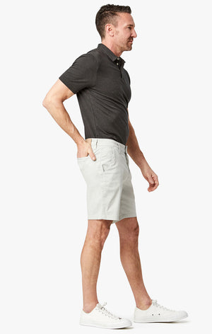 Arizona Slim Shorts in Stone Washed Twill