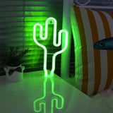 Lámpara Cactus Neon Led