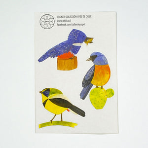 Set Stickers Aves II (3554645114952)
