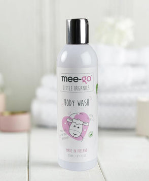Scent-free body wash for babies and children with sensitive skin.