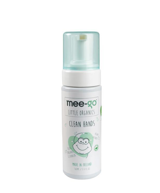 100% organic hand sanitiser for parents, babies and toddlers.