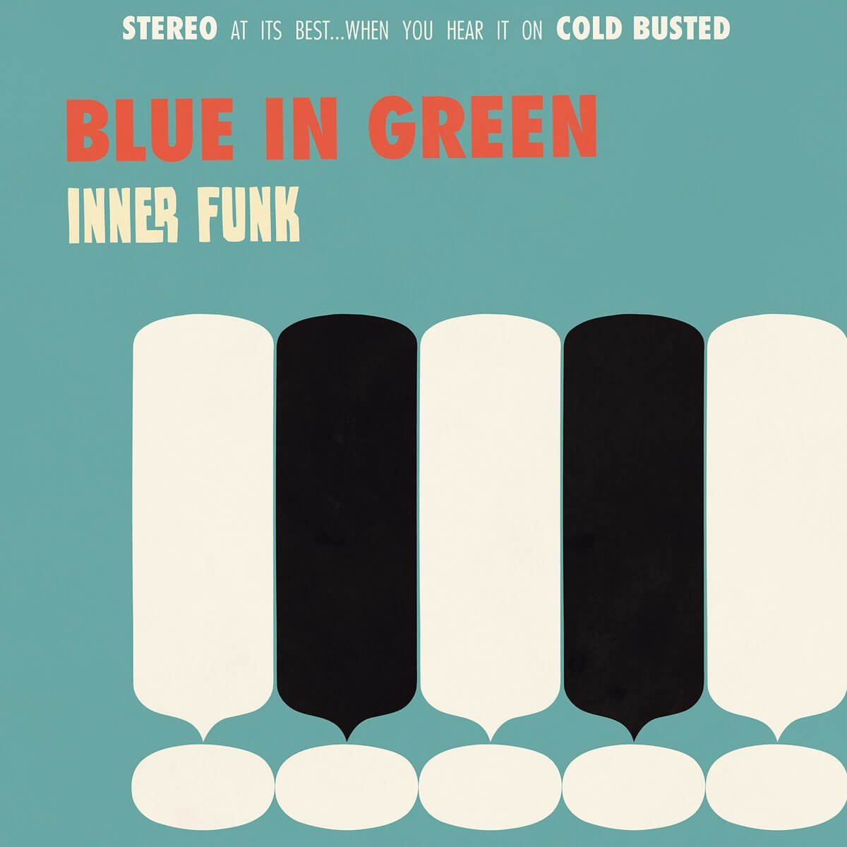 "Blue In Green - Inner Funk - Limited Edition 12"" Vinyl Cold Busted"
