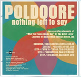 Poldoore - Nothing Left To Say -  Cold Busted