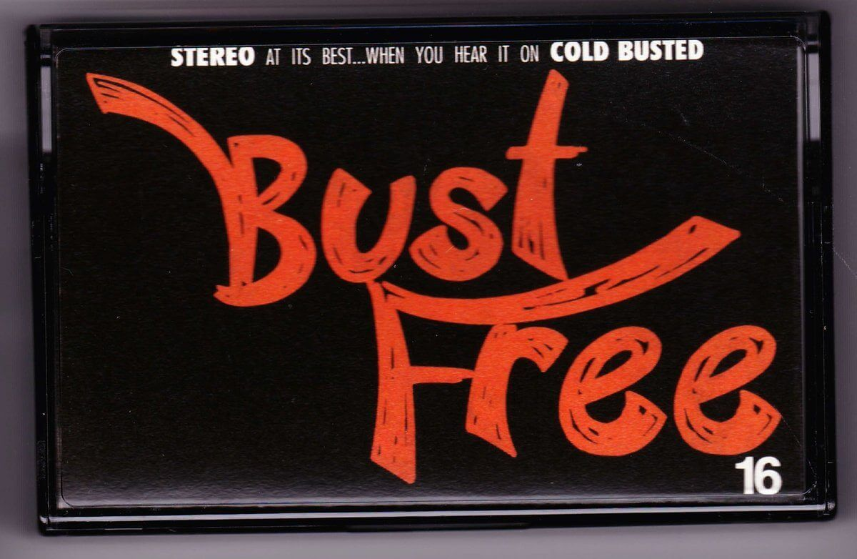 Various Artists - Bust Free 16 - Limited Edition Cassette Cold Busted