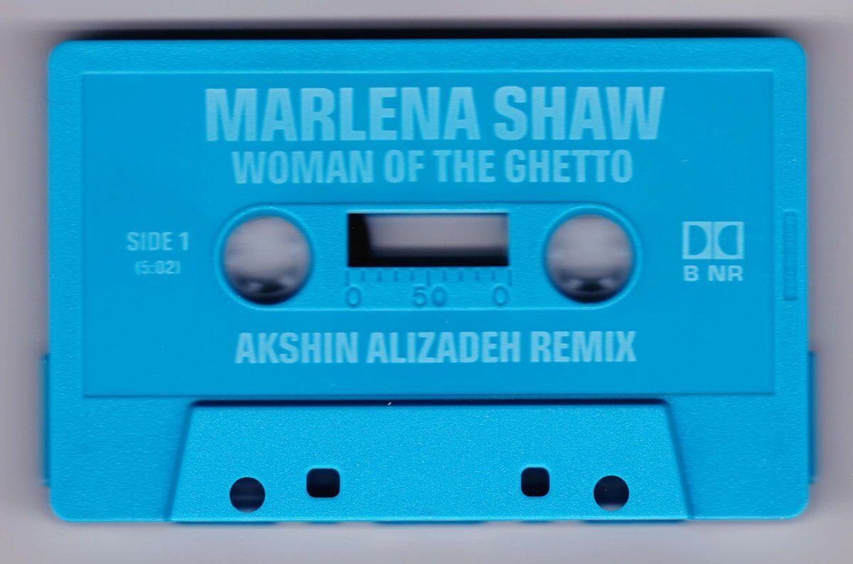 Marlena Shaw - Woman of the Ghetto (Akshin Alizadeh Mixes) - Limited Edition Cassingle (Cassette Single) Cold Busted
