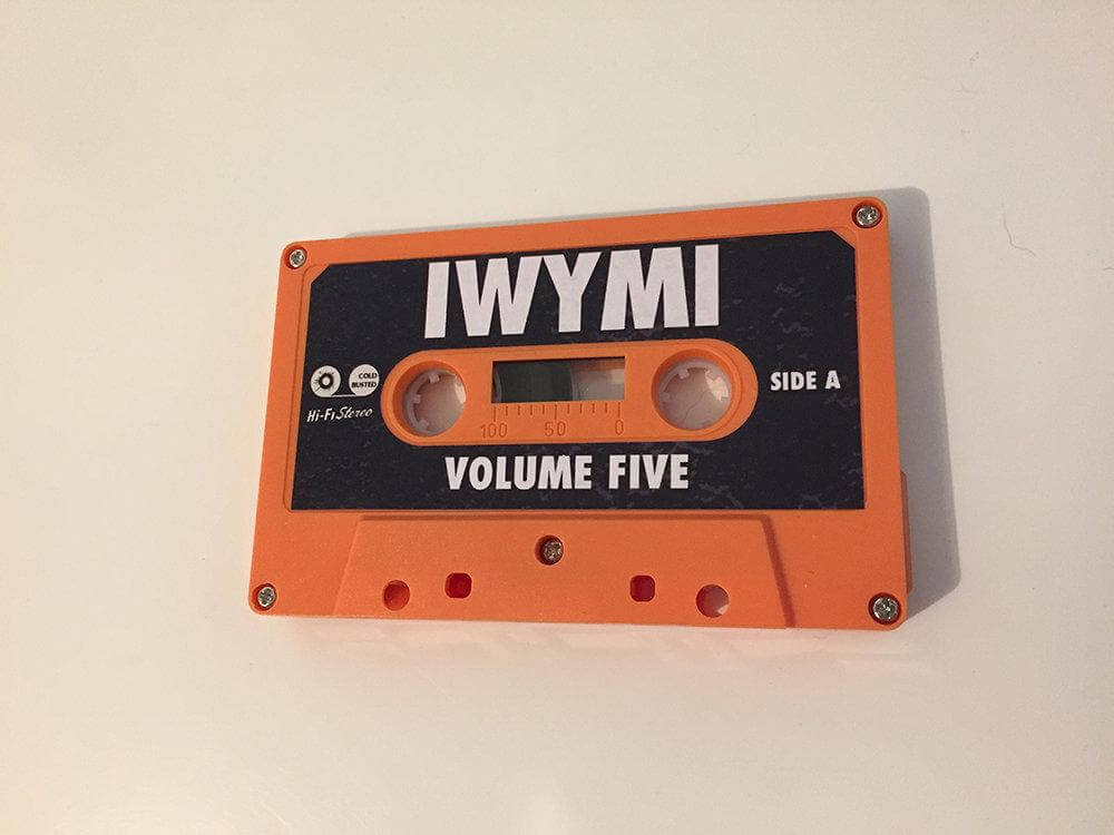 Various Artists - IWYMI Volume Five - Limited Edition Cassette Cold Busted