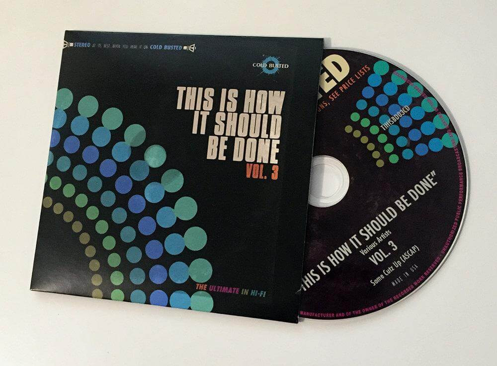 Various Artists - This Is How It Should Be Done Volume 3 - Limited Edition Compact Disc Cold Busted