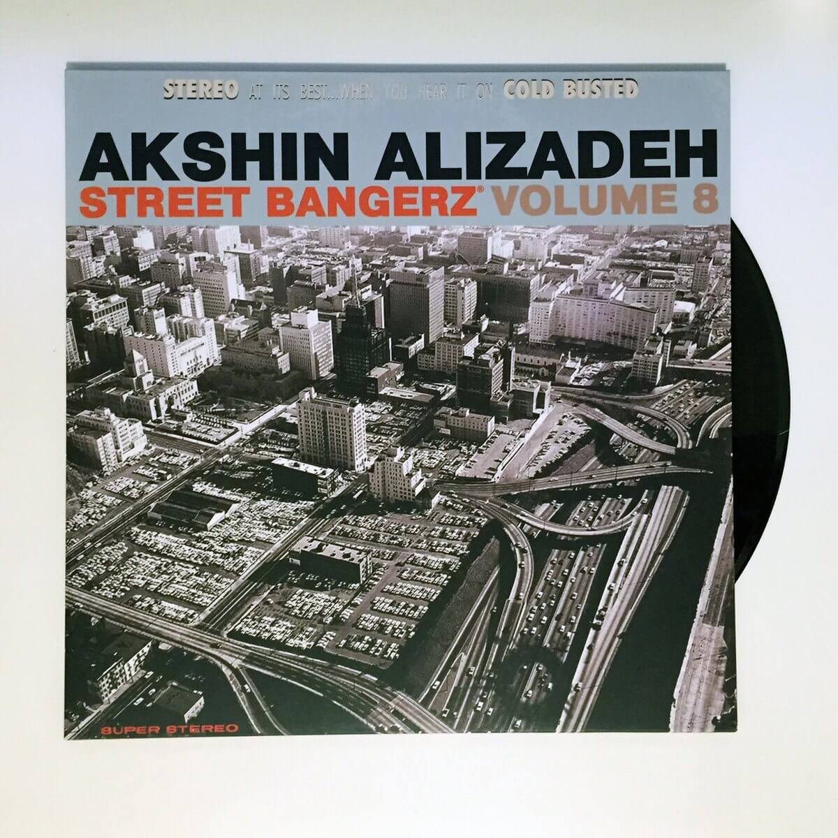 "Akshin Alizadeh - Street Bangerz Volume 8 (Remastered) - Crowdfunded Limited Edition 12"" Vinyl Cold Busted"