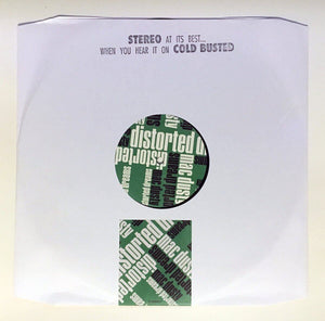 "Mac Dusty - Distorted Dreams - Limited Edition 12"" Vinyl Cold Busted"