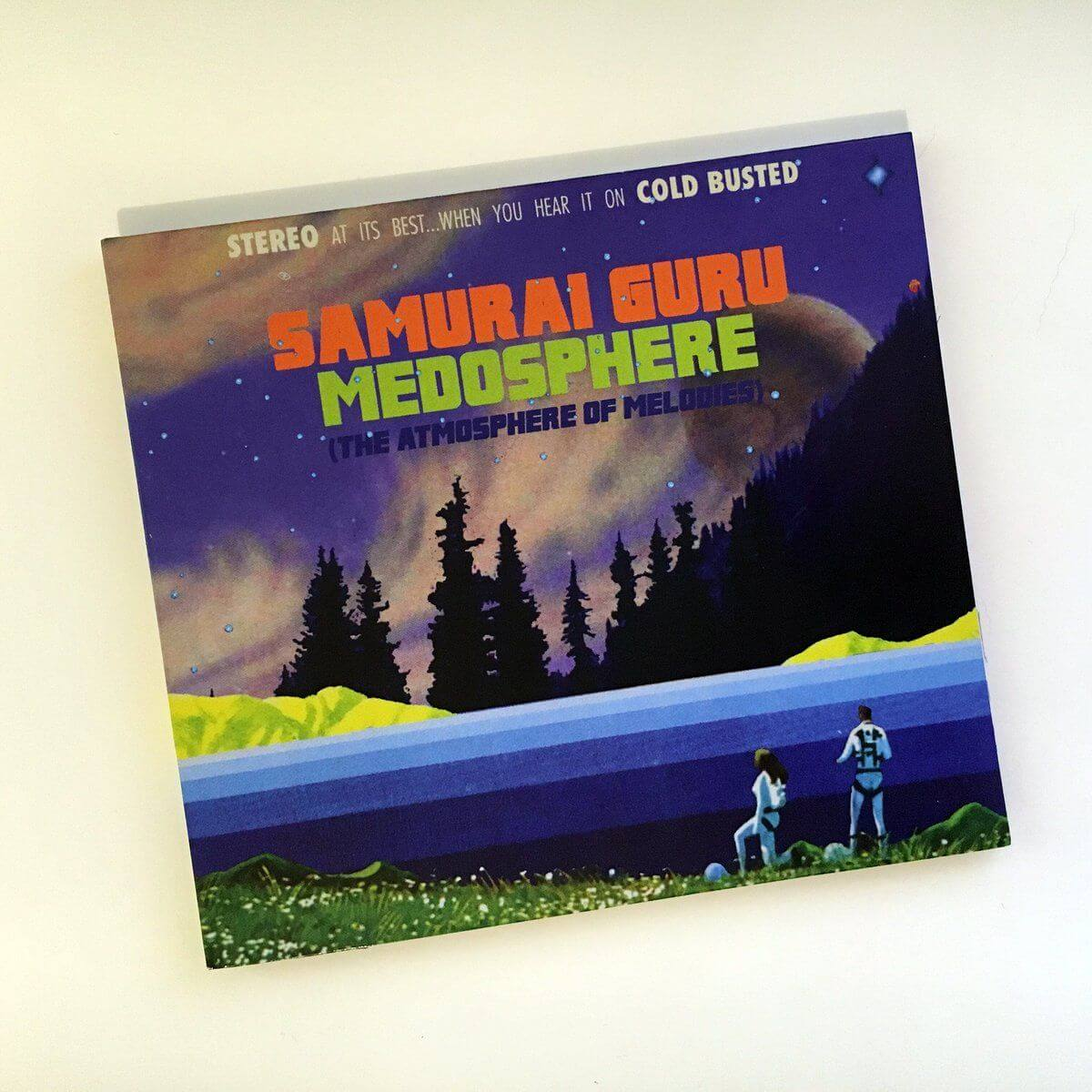 Samurai Guru - Medosphere (The Atmosphere Of Melodies) - Limited Edition Compact Disc Cold Busted