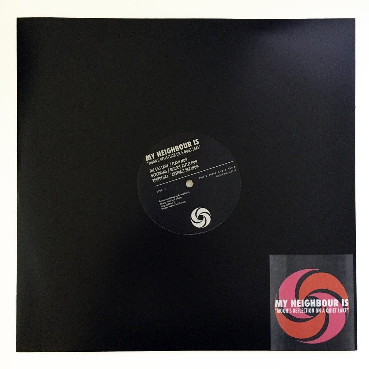 "My Neighbour Is - Moon's Reflection On A Quiet Lake - Limited Edition 12"" Vinyl Cold Busted"