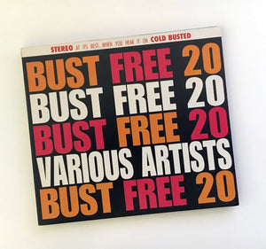 Various Artists - Bust Free 20 - Limited Edition Compact Disc Cold Busted