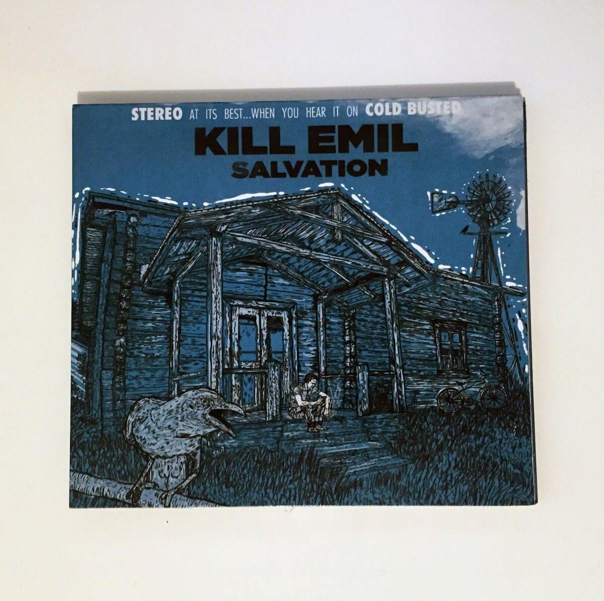 Kill Emil - Salvation - Limited Edition Compact Disc Cold Busted