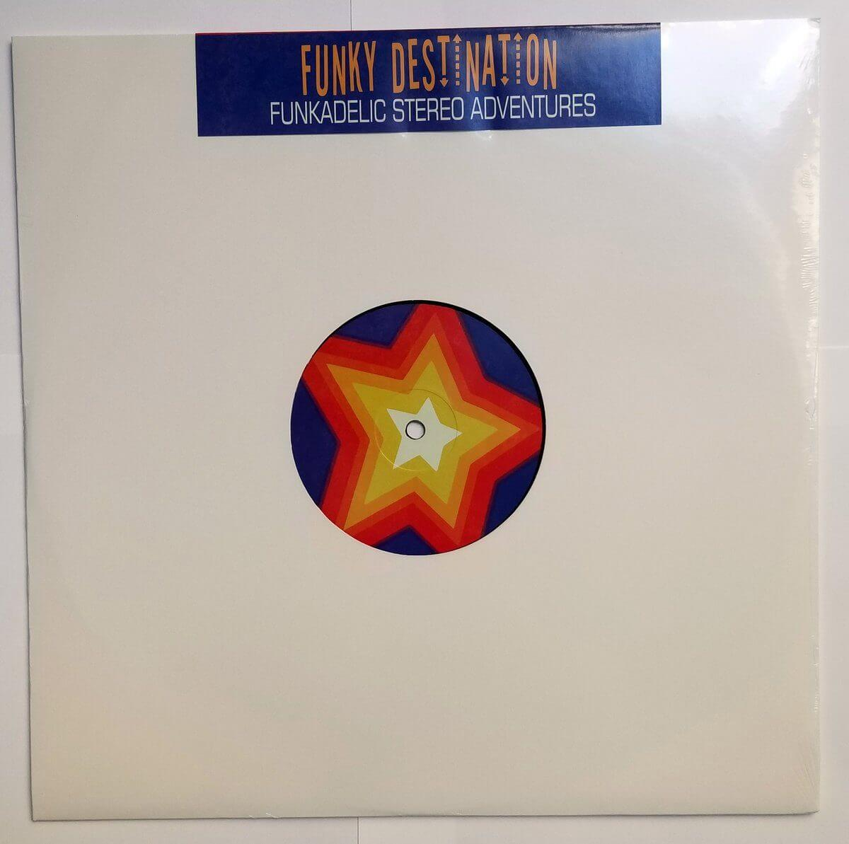 "Funky Destination - Funkadelic Stereo Adventures - Limited Edition 12"" Vinyl Cold Busted"