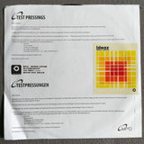 "Ideaz - Motion Capture - Limited Edition 12"" Vinyl Test Pressing Cold Busted"