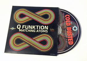 Q Funktion - Matching Atoms - Limited Edition Compact Disc Cold Busted