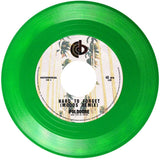 "Poldoore - Hard To Forget / Midnight In Saigon Remixes - Limited Edition 7"" Green Colored Vinyl Cold Busted"