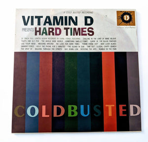 "Vitamin D - Hard Times - Limited Edition Double 12"" Vinyl - Not Numbered Cold Busted"