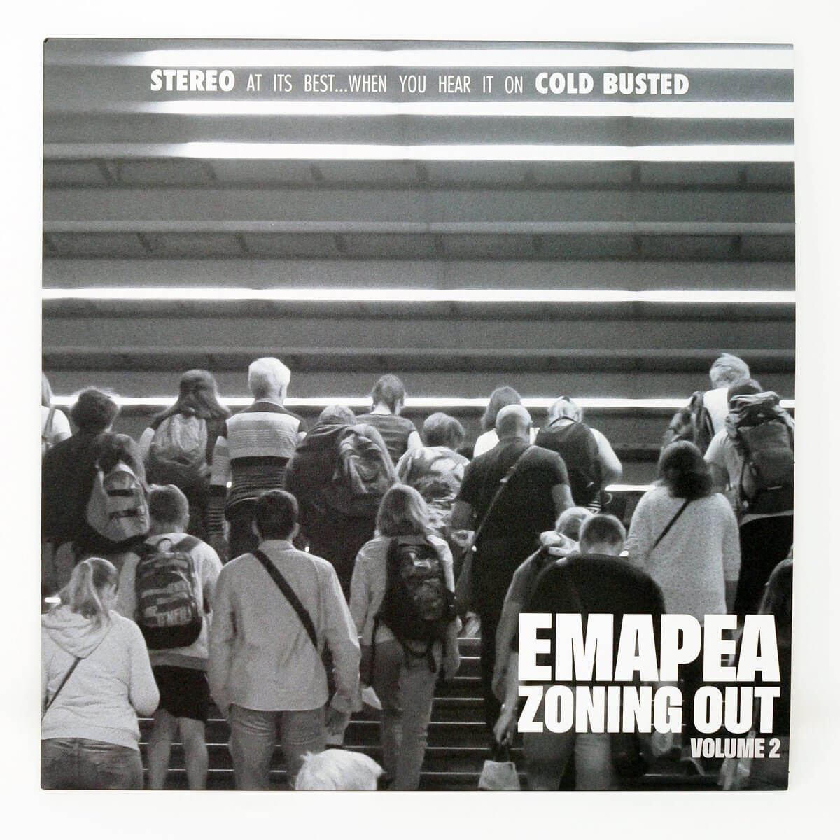 "Emapea - Zoning Out Volume 2 - Limited Edition 12"" Vinyl Cold Busted"