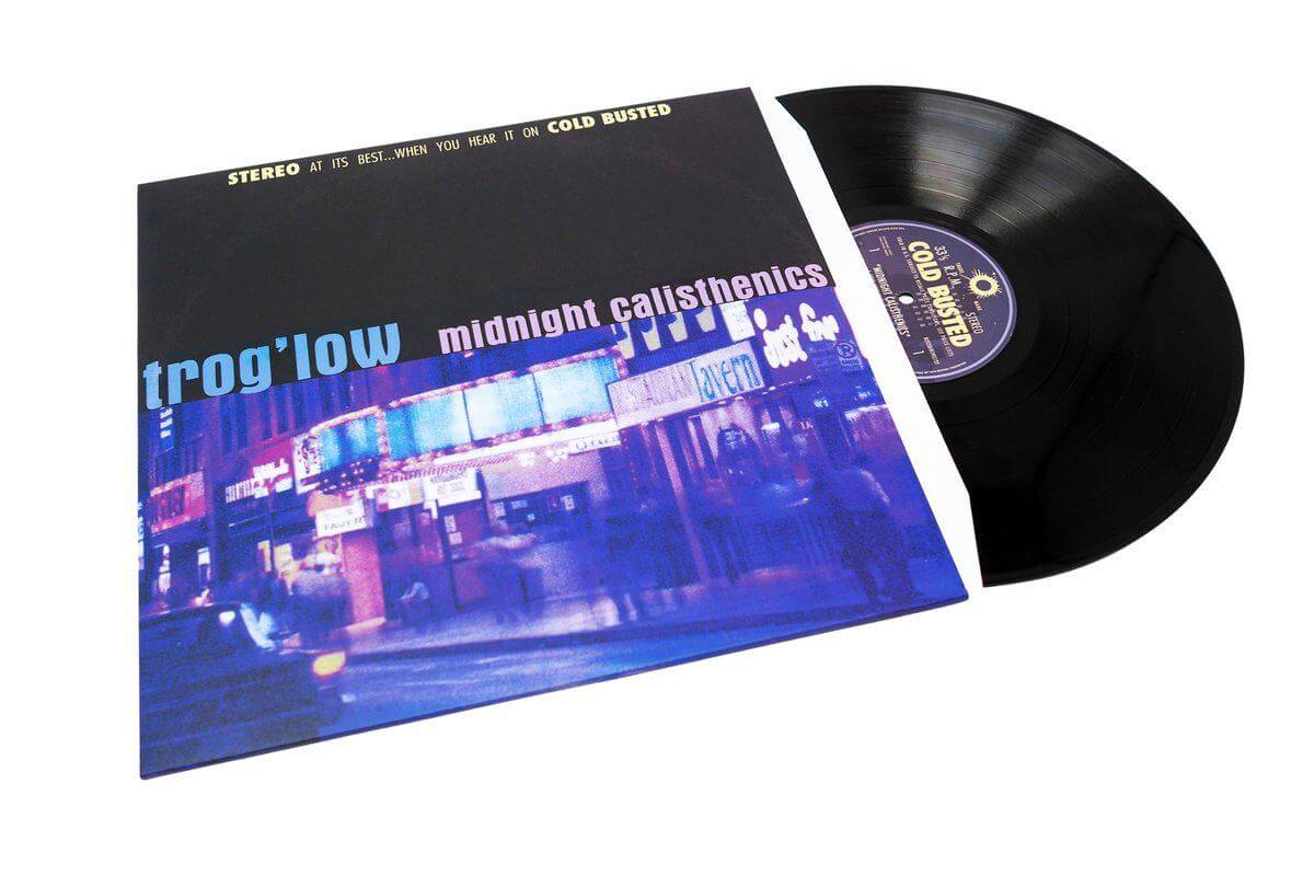 "Trog'low - Midnight Calisthenics - Limited Edition 12"" Vinyl Cold Busted"