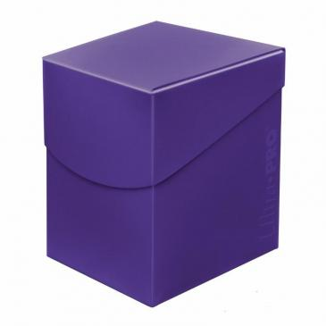 Ultra Pro Eclipse Deck Box (100) Royal Purple