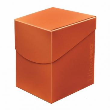 Ultra Pro Eclipse Pro Deck Box (100) Pumpkin Orange