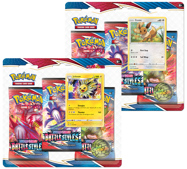 Sword & Shield Battle Styles 3 Booster Triple Pack (