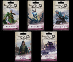 Inheritance Cycle First 5 Dynasty Packs L5R LCG