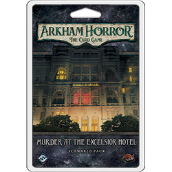 Murder at the Excelsior Hotel Arkham Hor
