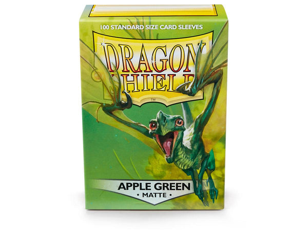 Dragon Shield Matte Apple Green Sleeves (100)