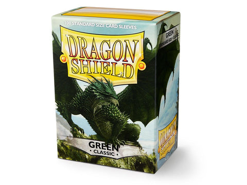 Dragon Shield Green Sleeves (100)