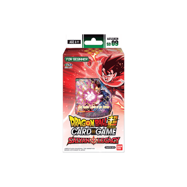 Dragon Ball Super CG: Starter Deck SD09 - SAIYAN LEGACY