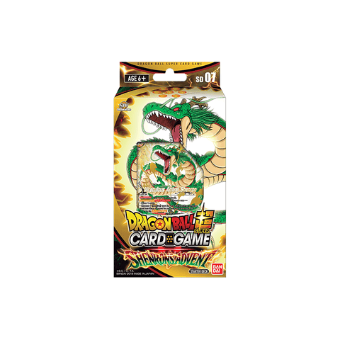 DRAGONBALL SUPER CARD GAME: SHENRON'S ADVENT STARTER DECK
