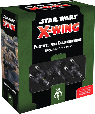 X-Wing Fugitives & Collaborators Squadron Pack