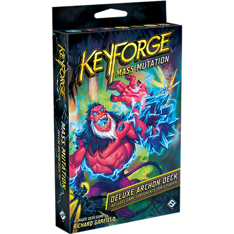Mass Mutation Deluxe Deck: KeyForge