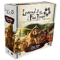 Clan War Expansion: L5R LCG