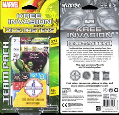 Kree Invasion Team Pack: Marvel Dice Mas