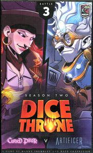 Dice Throne Season Two Box 3: Cursed Pirate v. Artificer