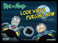 Rick and Morty Look Whos Purging Now Card Game
