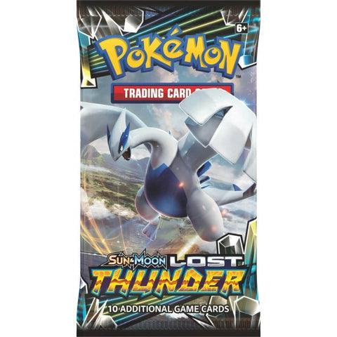 Pokemon: Sun & Moon 8 Lost Thunder Booster