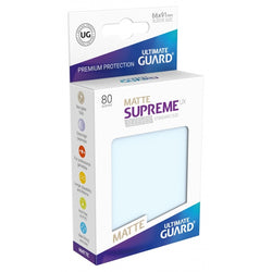 Ultimate Guard Supreme Sleeves Matte Transparent 80