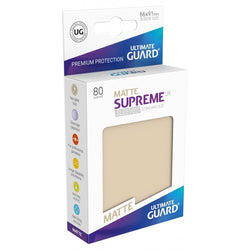 Ultimate Guard Supreme Sleeves Matte Sand 80