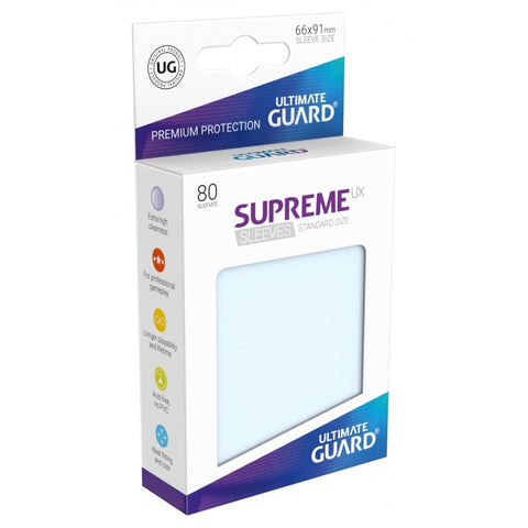 Ultimate Guard Supreme Sleeves Transparent (80)