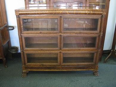 SOLD Fancy Barrister Bookcase