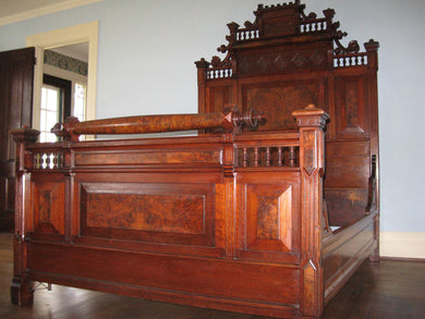 SOLD Renaissance Revival Bed