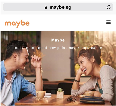 Maybe.sg | Meet Someone new in Singapore