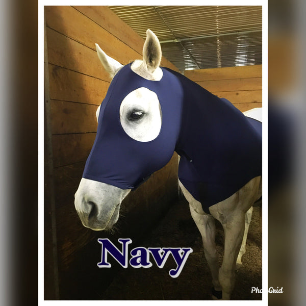 Sleek n' Slinky Mane Stay Hood with Zipper *Horse Size