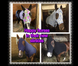 Sleek n' Slinky Mane Stay Hood with Zipper *Warmblood Size