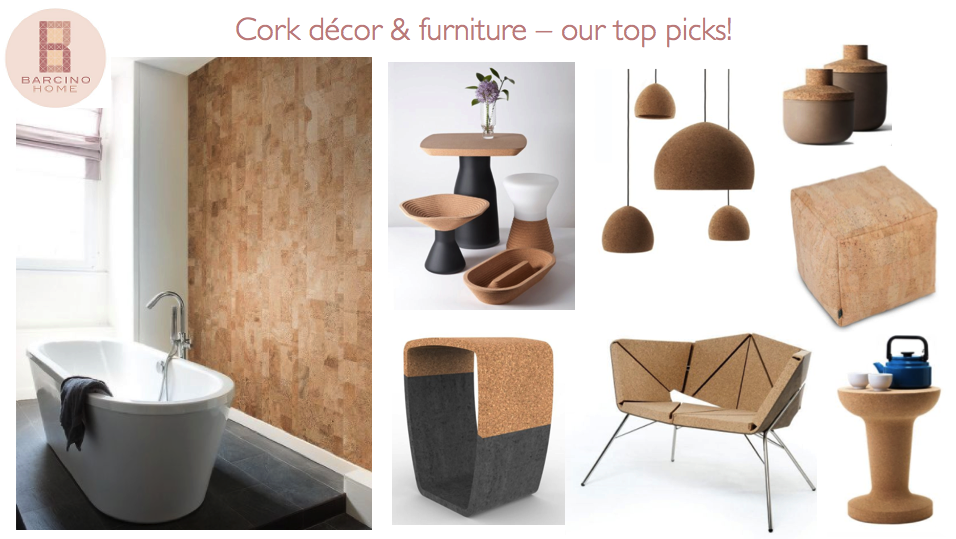 Merveilleux Cork Decor And Furniture   Our Top Picks Barcino Home