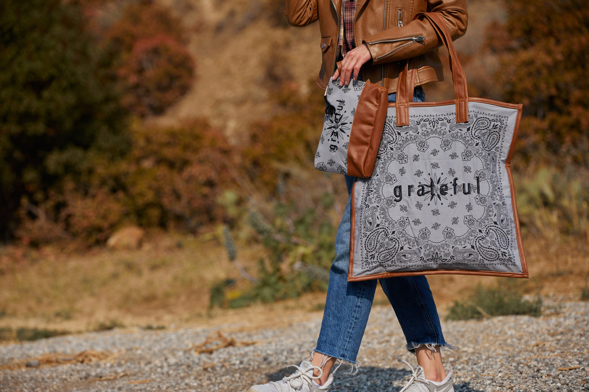 Grateful Bandana Bag